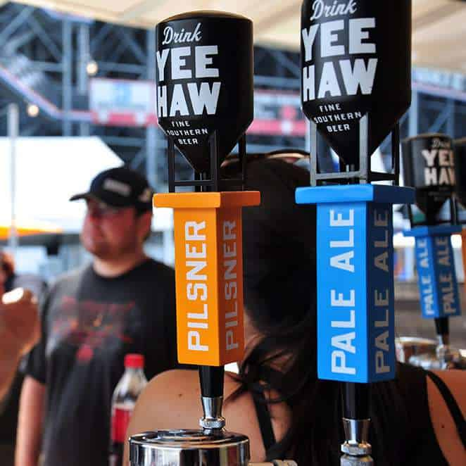 Label Industries Yee Haw Brewing Bristol Fall 2015 Activation